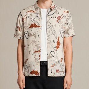 All Saints Hawaii Five-O printed shirt
